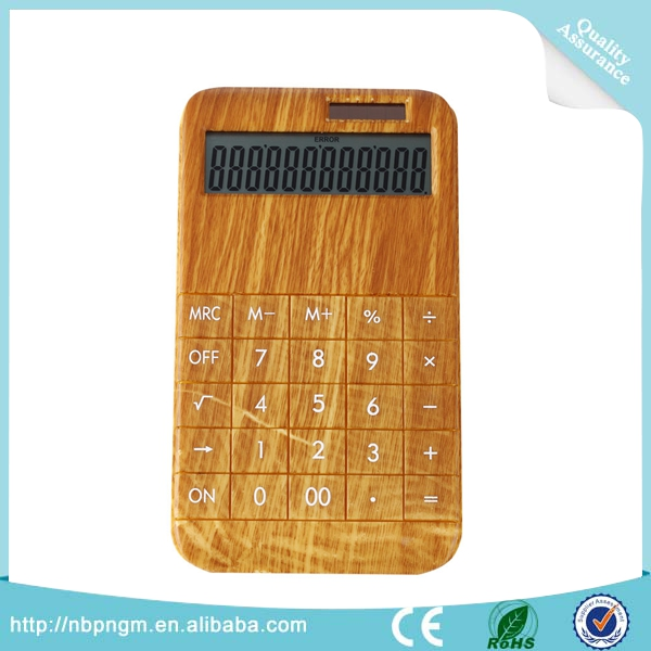 Various Colors Desktop Dual Power 12 Digits Eletronic Calculator Large Display