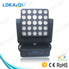 25*12W 4-in-1 led matrix moving head light disco furniture professional stage lighting