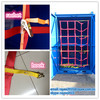 good quality of the cargo webbing net, floor cargo net mesh/red de carga