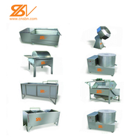 CE standard factory supply automatic potato chips making machine