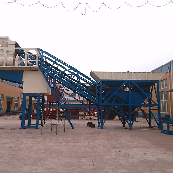 Used Concrete Batching Plant Yhzs50 Near Me For Sale