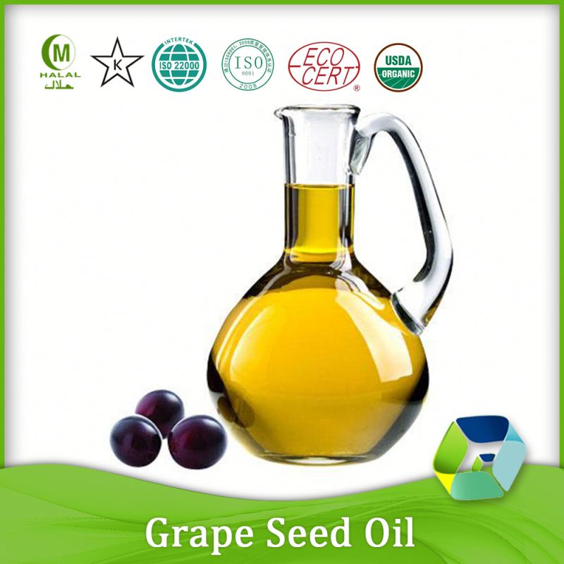 fresh nutritional grape seed oil