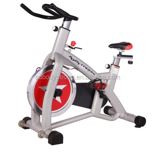 Body Fit Commercial 20kg Flywheel Exercise Spin Bike