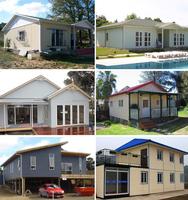 economical light steel prefab house family home building