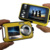 24MP Double Screens Waterproof Digital Camera,2.7 inch +1.8 inch Screens HD 1080P CMOS 16x Zoom Camcorder mini Camera DC998