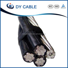 NFC Standard twisted aluminium core xlpe insulated abc cable price list