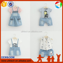2016 hot selling baby dress factory supply fashionable kids wear 100% cotton kids clothes