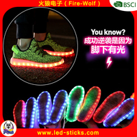 Latest Kids Child Adults Cheap Mesh LED Shoes Sneaker Wholesale