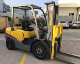 China 3 ton diesel forklift with paper roll clamp