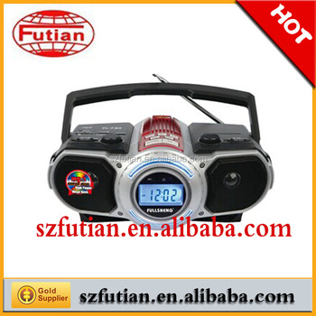 Am/fm Boombox/ Radio Player /4 Band Radio With Usb Sd Card Ft-800 ...