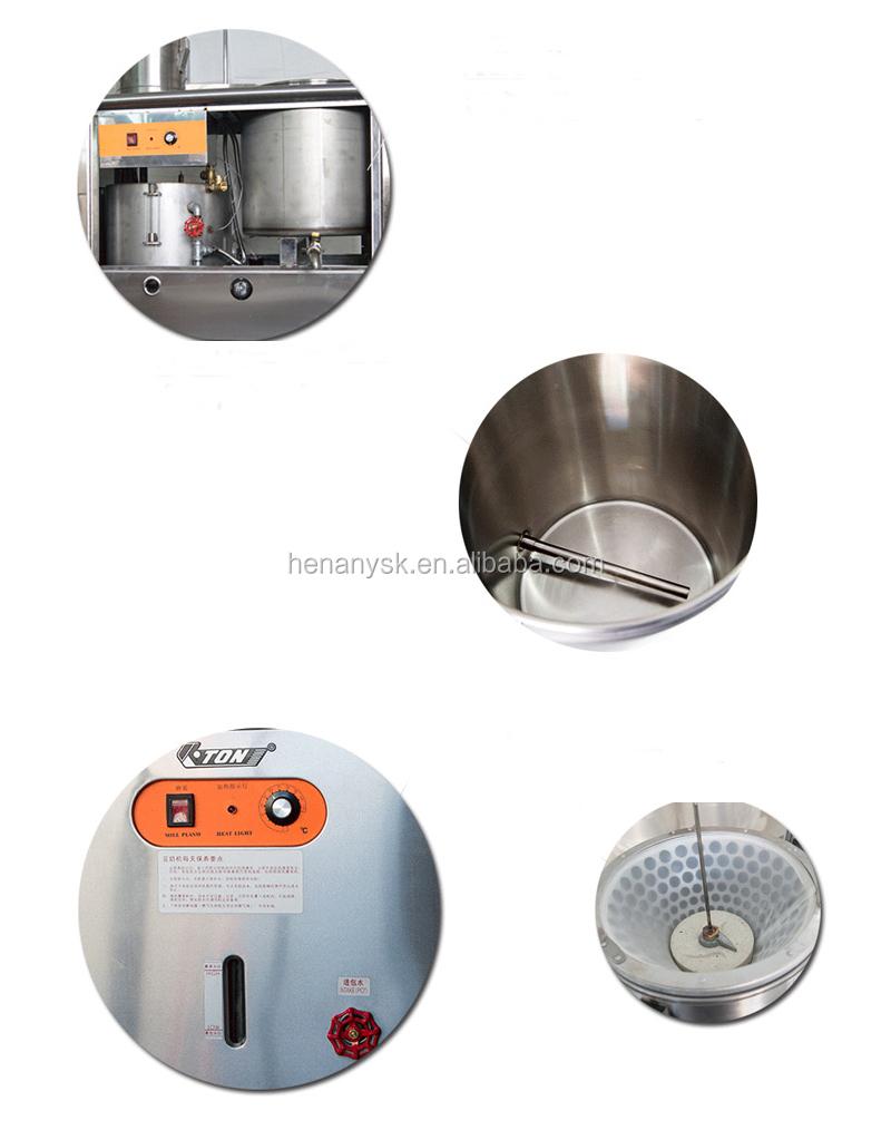 50L Stainless Steel Electric LPG Gas Commercial Soybean Tofu Press Milk Grinder Soymilk Grinding Making Machine Price