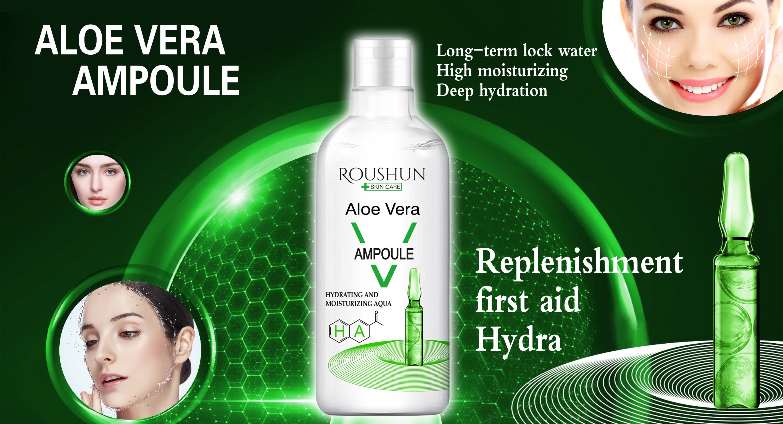 Roushun aloe vera moisturizing aqua