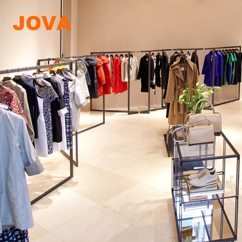 63d7c57ff Professional Design Clothes Rack Store Dress Rack With Garment Rack