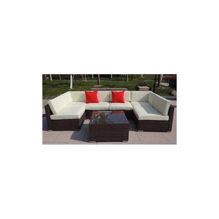 7pcs Outdoor Sectional Sofa Set