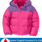 2015 Wholesale Kids Winter Goose Down Filled Clothes/Coats-simple Fashion Down Jacket for Child Clothing