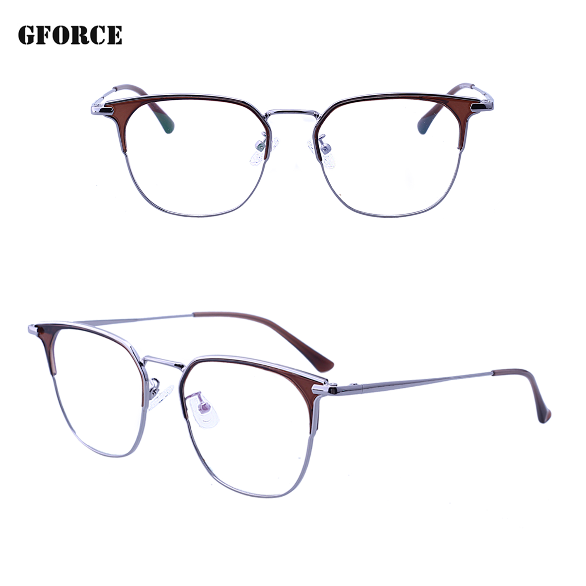 new products 2019 metal design square women cheap high quality optical eyeglasses frames