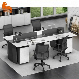 Top selling office furniture 4 person cell phone repair office workstations