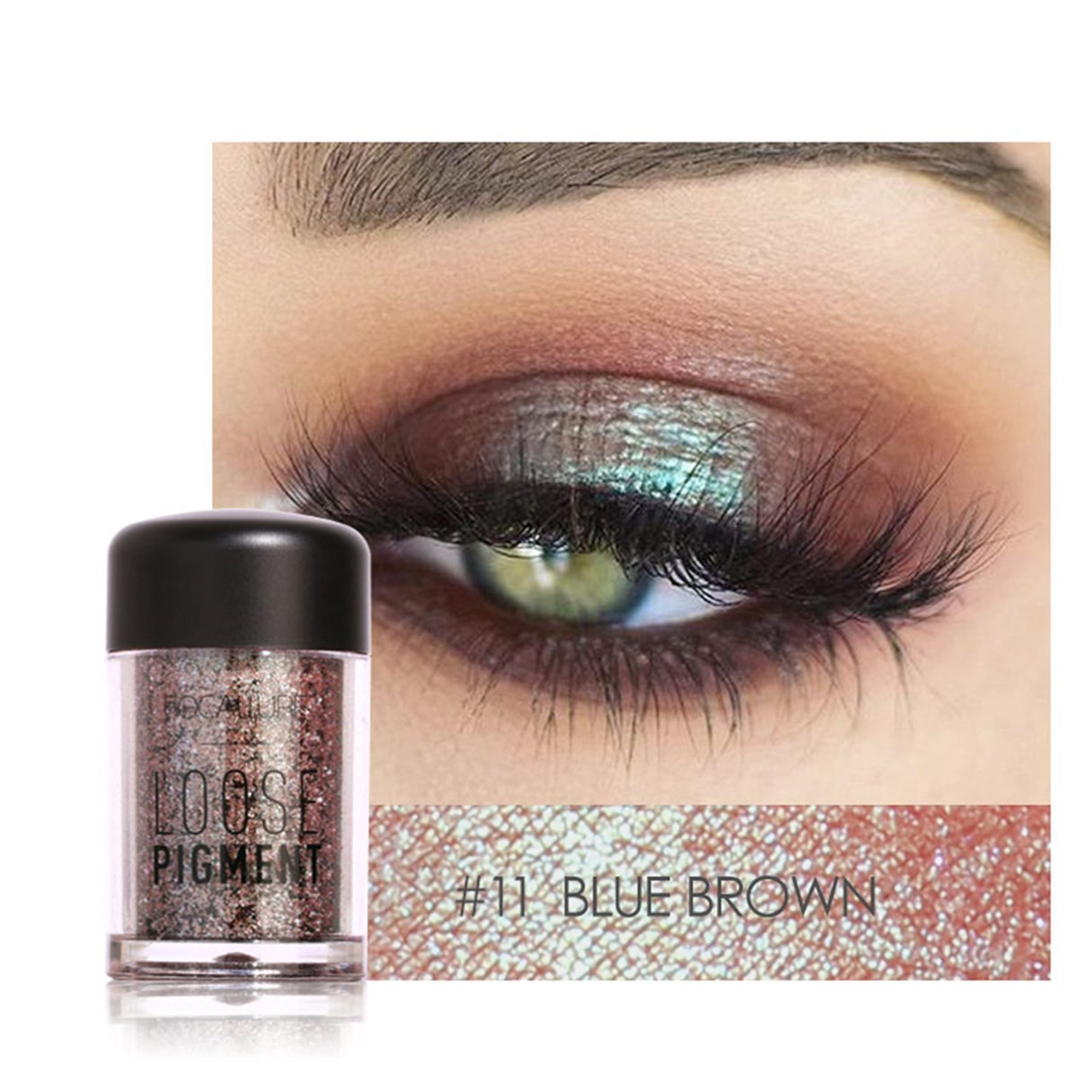 Beauty Essentials Beauty & Health 12 Color Diamond Glitter Eyeshadow Palette Gold Shine Eyeshadow Glitter Shiny Eyeshadow Blue Eye Shadows Cosmetics Tool High Quality And Inexpensive
