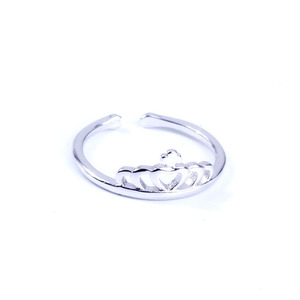 Korean Version Open Ring Wholesale Fashion Jewelry 925 Silver Ring Design Ring