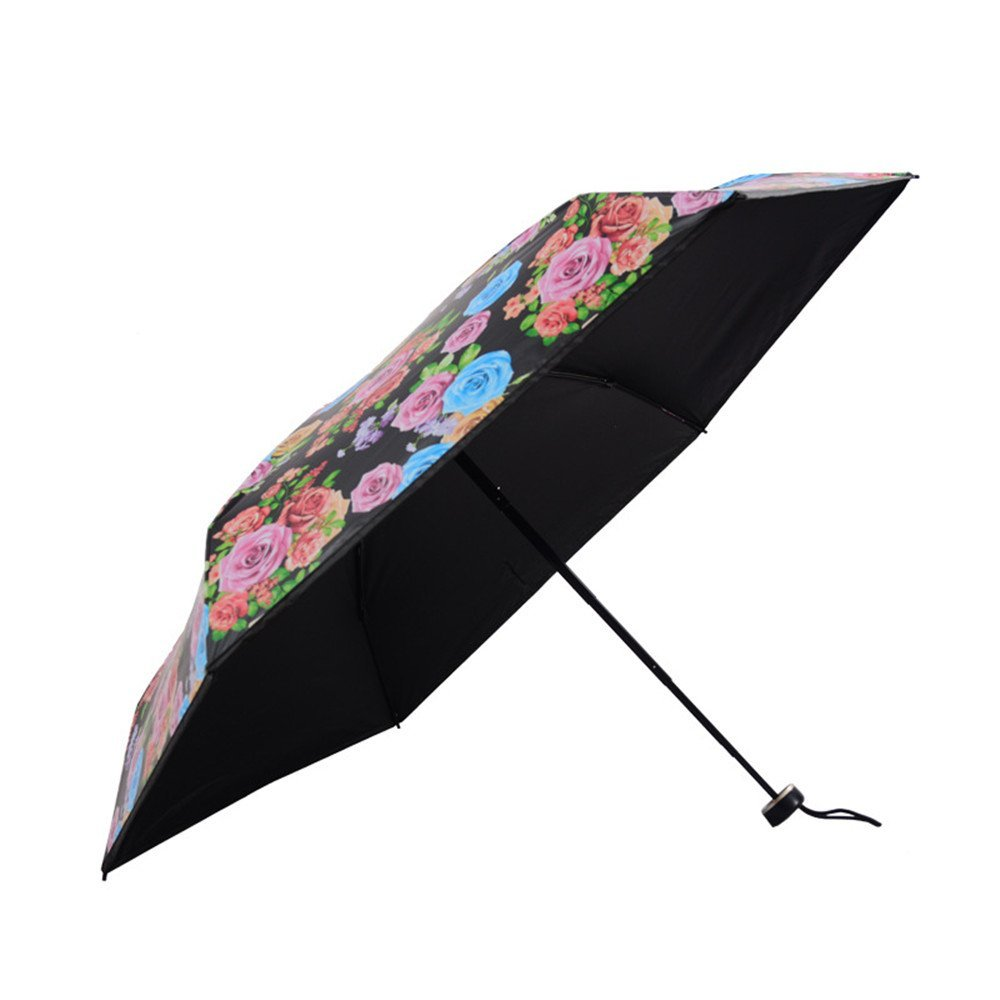 Get Quotations Whiteinn Small Travel Umbrella 95 Anti Uv Sun Ultra Compact Light Folding Pocket Mini