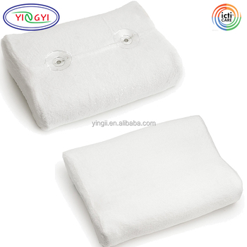 E438 Super Soft Bath Pillow Soft Removable Cover Quick Drying Mesh Bathtub Neck Pillow Buy Bathtub Neck Pillow Quick Drying Mesh Bathtub Neck