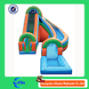long designed inflatable double lane slip slide inflatable slide for pool