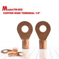 popular ring non-insulated copper connecting Terminal