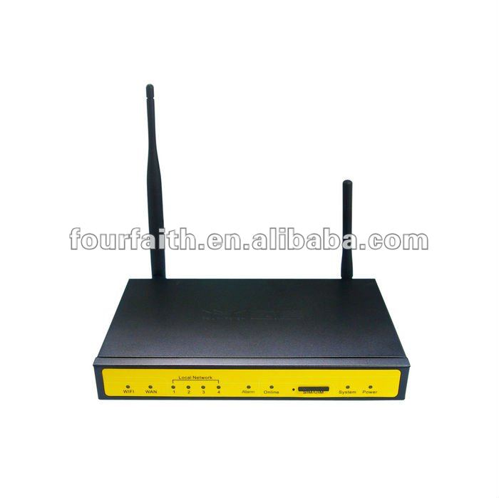 M2M cdma modbus router with 4 lan 1 wan wifi vpn for Video Surverllance (F3233)