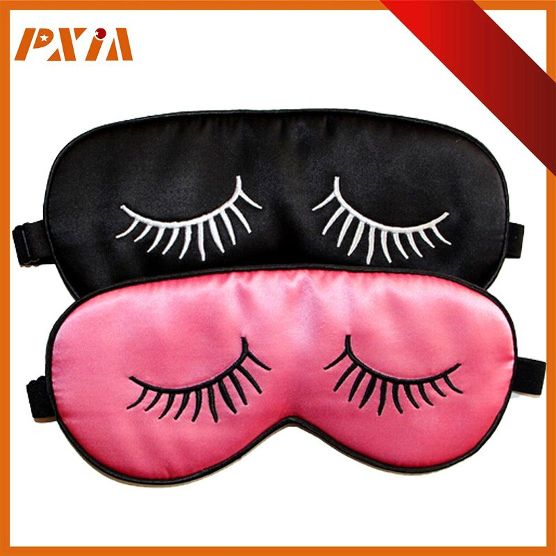 Promotional Custom Sleeping Eye Mask Silk,Soft Pure Silk Eye Mask,Sleeping Cover Eye Mask Party Gift