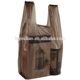 New model China wholesale clear vegetable plastic t-shirt bags on roll