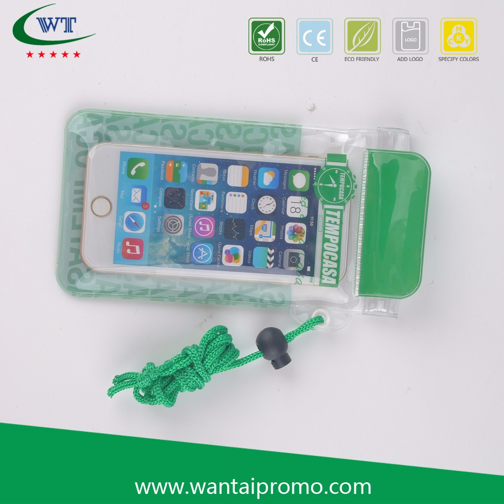 New Design Silicone Waterproof Pouch Phone