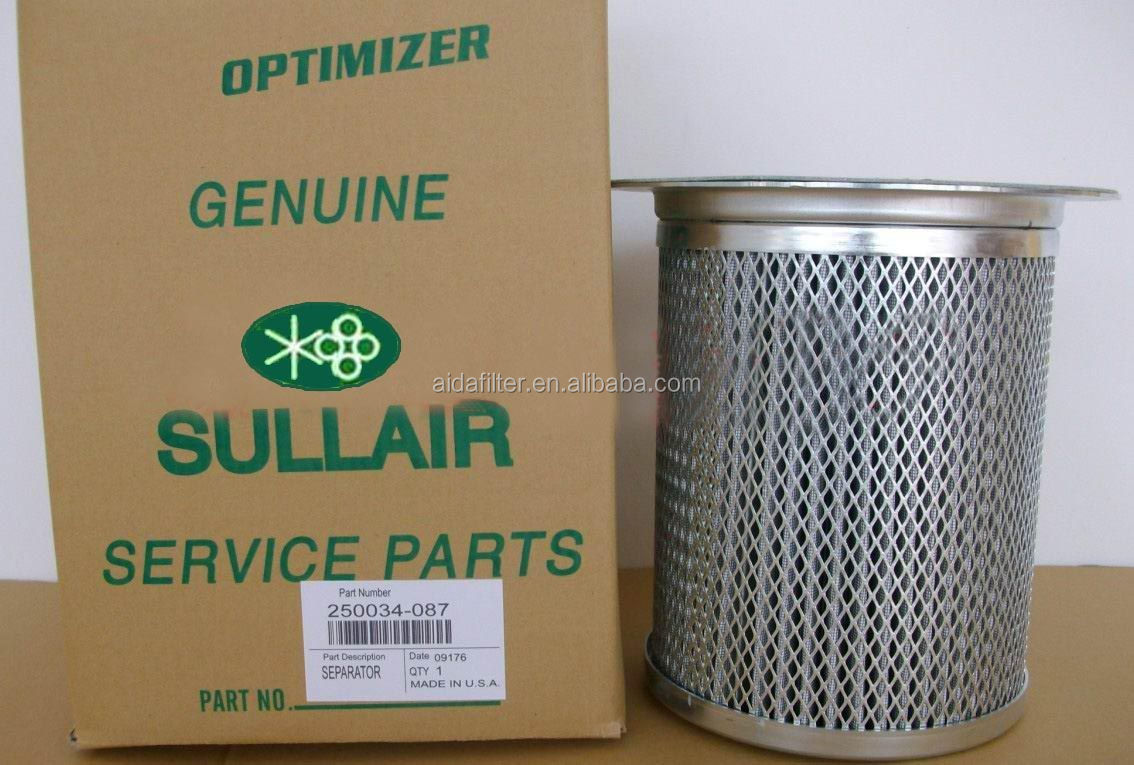 Sullair Air Oil Separator Element 88290015-567 / 02250106-791 ...