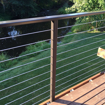 Cable Railings Stainless Steel Outdoor Railing Parts