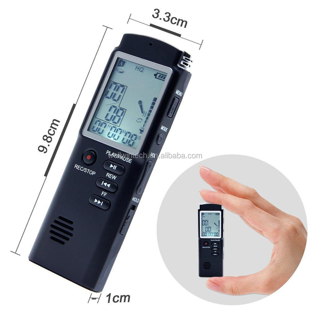 8GB 1.5inch Digital MP3 player Audio Voice Recorder Pen