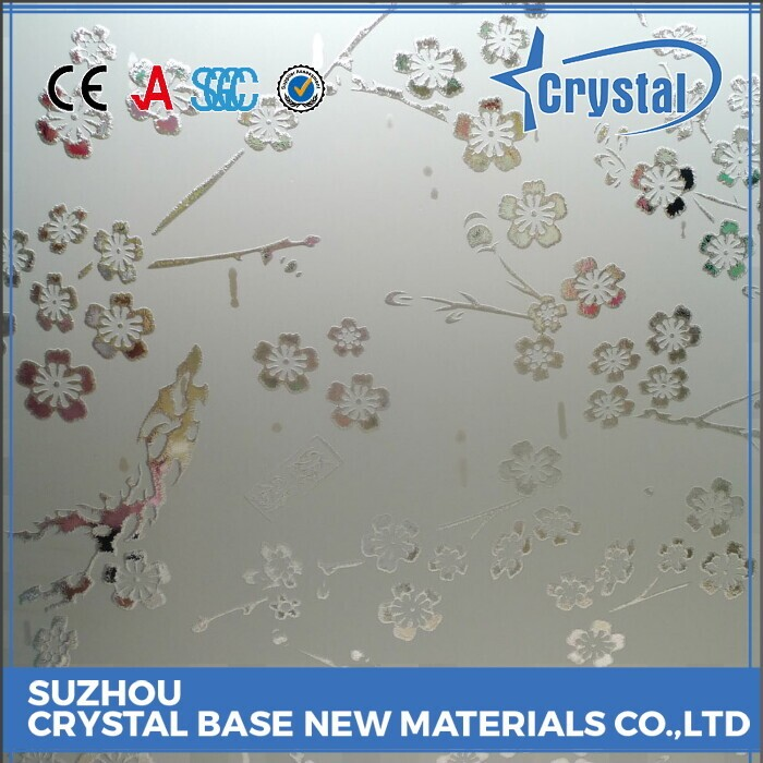 Dependable Manufacturer Building Material Colored Tempered Silk Printed Glass