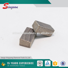 Professional Diamond Segments for Marble GangSaw Cutting