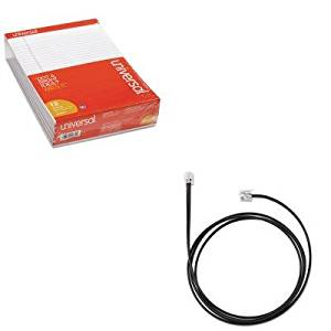 KITJBR1420122UNV20630 - Value Kit - Jabra Cisco Electronic Hook Switch Adapter (JBR1420122) and Universal Perforated Edge Writing Pad (UNV20630)