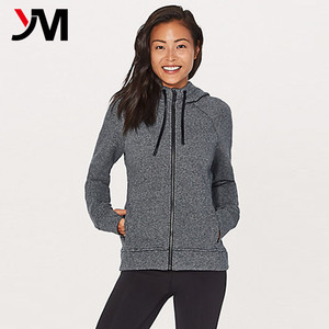 Wholesale Promotional Products Custom Logo Zip up Hoodie Women Winter Jacket