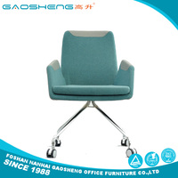 Factory supplies multifunctional blue italian leather executive office chair