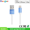 Wholesale high quality fast charger usb data MFI 8pin usb wire cable for iphone 7/6s/6