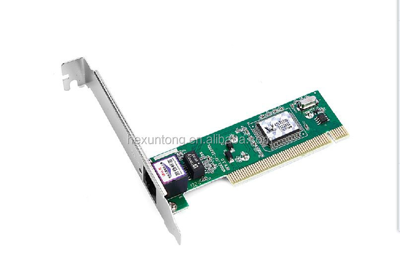 RTL8139D Ethernet Adapter PCI Lan Controller Card 10/100Mbps