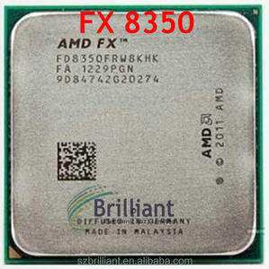 AMD FX 8350 AM3+ 4 0GHz 8MB CPU processor serial scrattered pieces