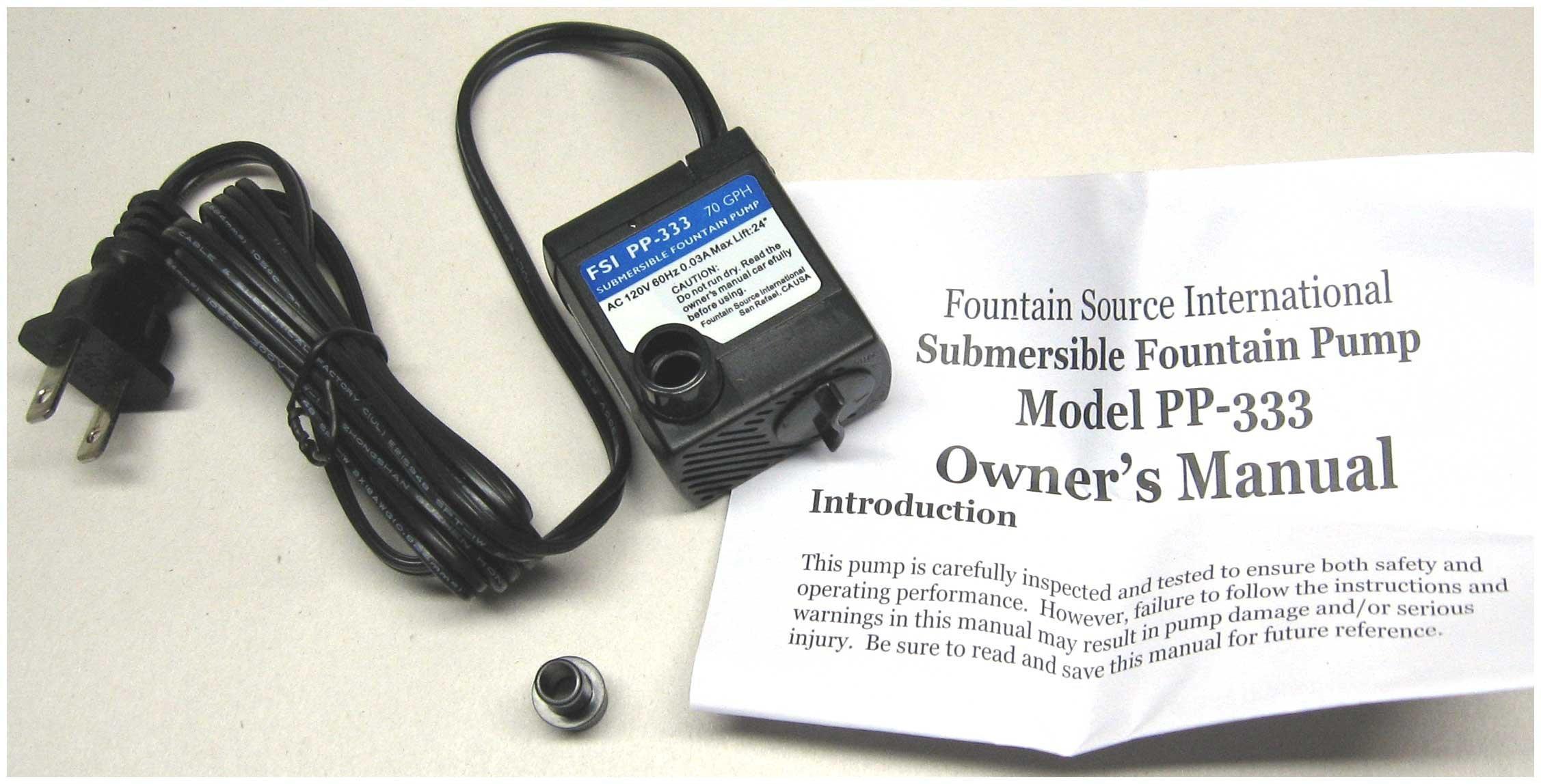 Admirable Buy Jebao 70Gph 120V Submersible Fountain Pump 2 Wire Pp 333 In Wiring Cloud Ratagdienstapotheekhoekschewaardnl