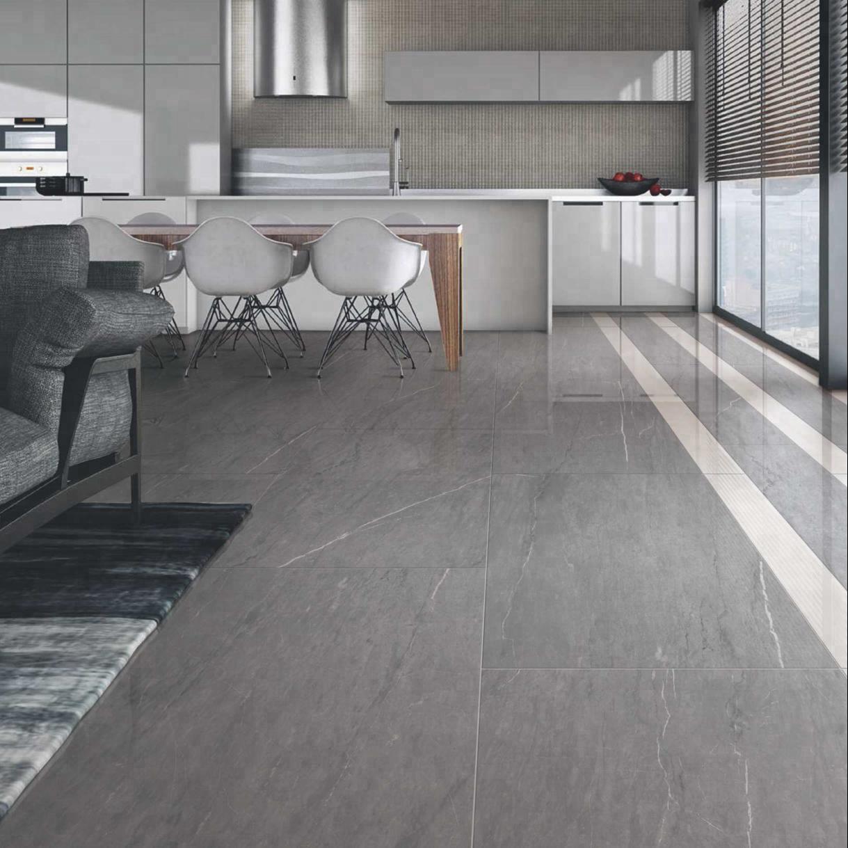 Supply Ash Color Marble Ceramic Floor