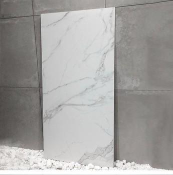 Solid Color White Ceramic Floor Tile