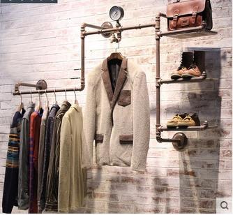 eisen rohre zu tun die alten retro kleiderst nder kleiderst nder regal schuh wand nakajima. Black Bedroom Furniture Sets. Home Design Ideas