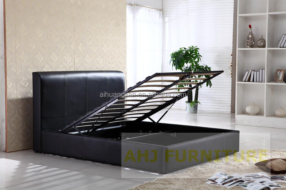 Under bed storage box lift up storage bed frame storage - Lift up under bed storage ...