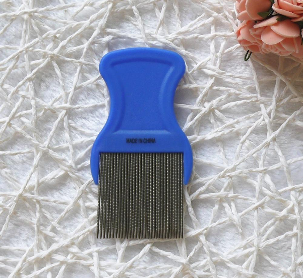 Anti OEM Plastic SS Advertising photo Image Picture meaning of Nit Lice Louse Flea Tick V Spirraled head combs remover for kids