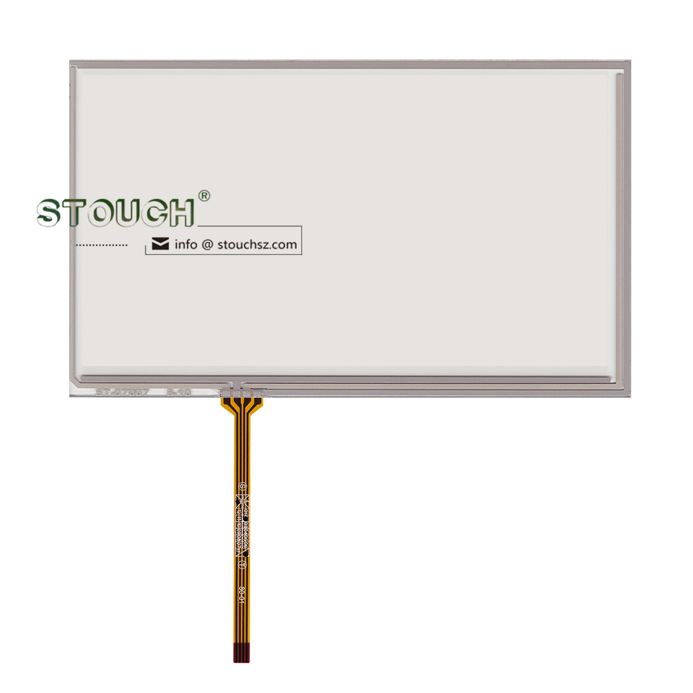 7 inch resistive touch screen digitizer 4 wire for Lnnolux AT070TN92 AT070TN94