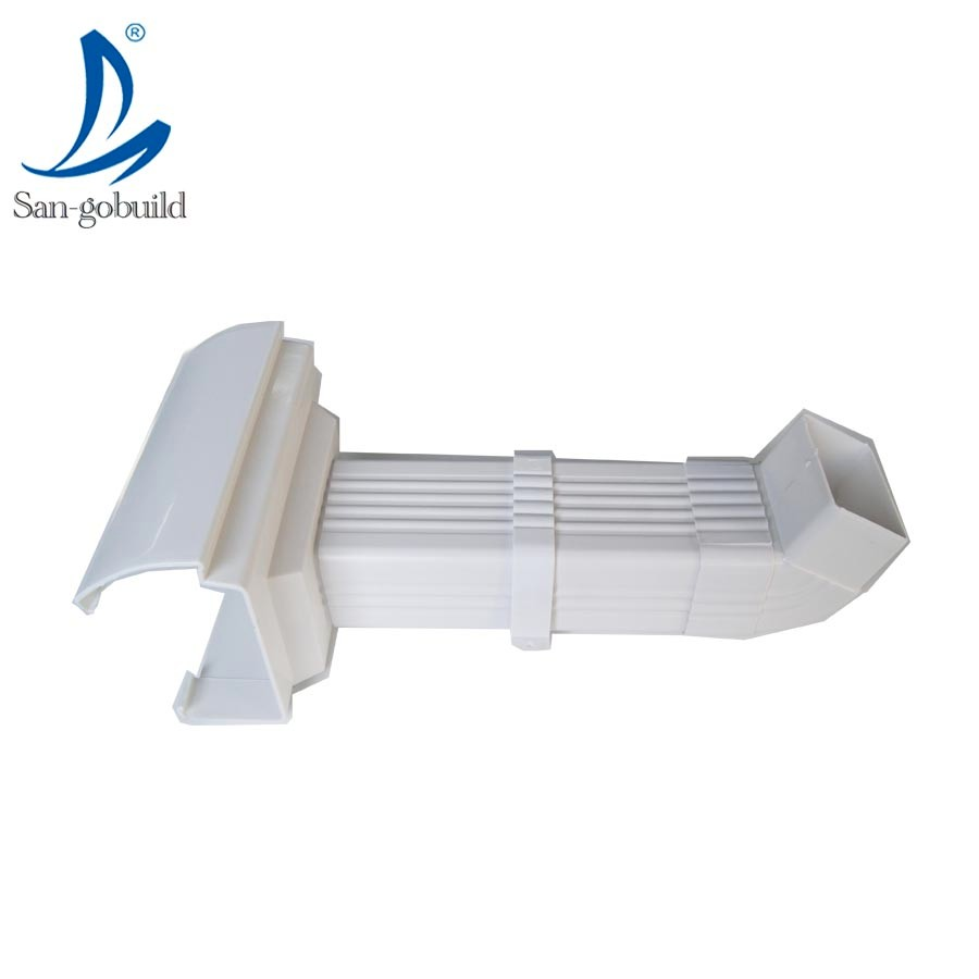 Hot Sale No Fading Pvc Rain Gutter System K Type 5 2